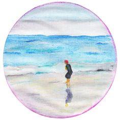 """""""Laten we dromen over zee. Over de golven en de wind. Het water dat altijd beweegt, wat geeft, wat neemt. Bouw een droomkasteel van zand, voel de korrels zout in de palmen van je hand. Hoor ..."""