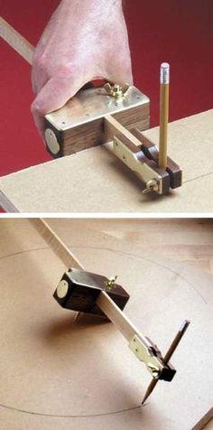 31-MD-00141 - Trammel and Marking Gauge Woodworking Plan - WoodworkersWorkshop® Online Store