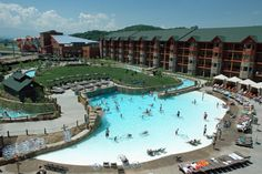 Wilderness at the Smokies - Lake Wilderness has a beach, wave pool, lazy river and MORE.