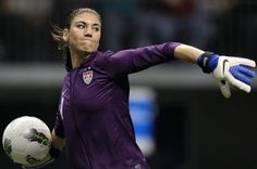 USWNT goalkeeper Hope Solo was arrested at her suburban Seattle home after domestic incident. (Don't blow it, Hope! Usa Soccer Team, Female Soccer Players, Soccer Goalie, Us Soccer, Soccer Stars, Team Usa, Soccer Pics, Female Football, Women's Football