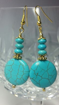 Turquoise and golden accents