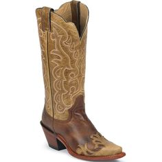 "L4337 Justin Women's Vintage 13"" Western Boots from Bootbay, Internet's Best Selection of Work, Outdoor, Western Boots and Shoes."