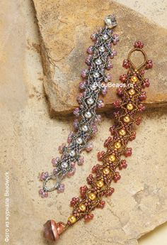 bracelet from beads dream romance of - free pattern