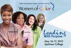 Great news! I will be speaking on a panel that will discuss how social media can help women shape their leadership brand at Spelman's 8th Annual Leadership and Women of Color Conference on May 17.