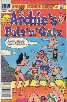 GCD :: Cover :: Archie's Pals 'n' Gals #177