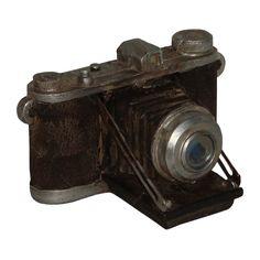 Miniatura Réplica Máquina Fotográfica Baixa em Resina - 8,5x8 cm | Carro de Mola - Decorar faz bem.