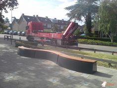 Boombank DeLuxe Antraciet Ovaal bij Paus Johannes school in Sint Pancras