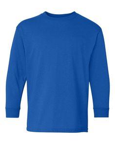 Gildan 5400B - Youth Heavy Cotton Long Sleeve T-Shirt 53f431064