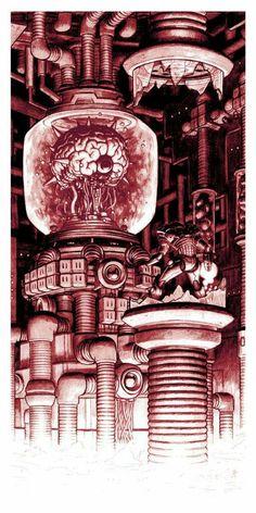 Nick Derington – Boss Fight – The Brain Samus vs. Mother Brain Nick Derington – Boss Fight – The Brain Samus vs. Metroid Samus, Samus Aran, Metroid Prime, Video Game Posters, Video Game Characters, Video Game Art, Video Games, Blade Runner, Super Metroid