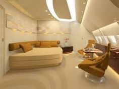 Private jet interior - yes please