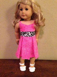 Hey, I found this really awesome Etsy listing at http://www.etsy.com/listing/151500440/18-inch-american-girl-doll-clothes-pink