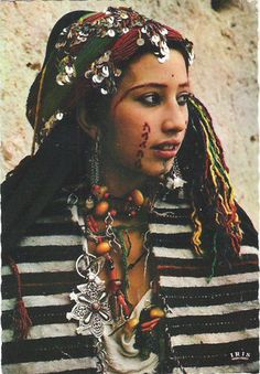 Morocco | Amazigh Girl