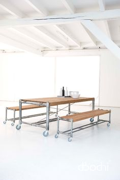 Gallery   Meizai  d-bodhi Kasting Dining Table + Bench