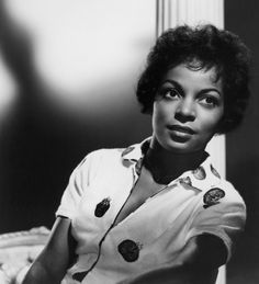 """""""Ruby Dee (27 Oct 1922 – 11 Jun 2014) Actress, poet, playwright, screenwriter, journalist, activist. Best known for co-starring in A Raisin in the Sun (1961) and American Gangster (2007). Nominated for an Academy Award for Best Supporting Actress. She was the recipient of Grammy, Emmy, Obie, Drama Desk, Screen Actors Guild Award, and Screen Actors Guild Lifetime Achievement Awards, National Medal of Arts and the Kennedy Center Honors. Married to actor Ossie Davis until his death in 2005."""""""