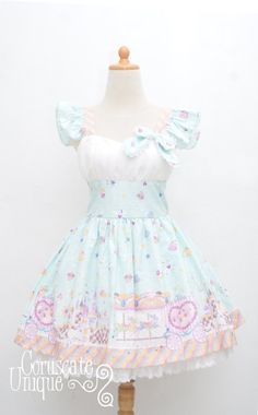 Merry Go Round Lolita Jumper Skirt Dress by CoruscateUnique