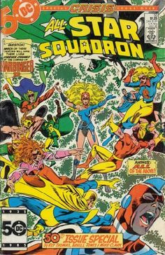 Cover for All-Star Squadron (DC, 1981 series) #50