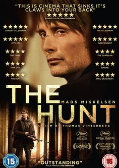 Nominee for the Best Foreign Language Film: The Hunt #oscars2014 #academyawards #oscars #nominees #foreignfilm #thehunt #convobar #convobarnyc #cocktailbar #winebar #hellskitchennyc #cocktailbar #cocktails #events #happyhour #specials