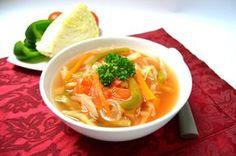 Fotografie článku: Recept na tukožroutskou polévku krok za krokem Dieta Detox, Thai Red Curry, Ramen, Soup Recipes, Smoothie, Food And Drink, Treats, Health, Ethnic Recipes