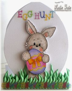 Quick and Easy Easter Cards with Katie Tate  -Project ideas using your Scor-Pal