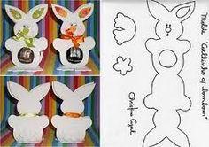 Resultado de imagen de porta bombom coelho