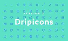Dripicons V2 (Free Iconset)