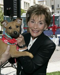 Judge Judy Celebrated for Dog Ownership Verdict, Plus 7 More Times She Was a Pet Advocate Judge Judy Sheindlin, Judith Sheindlin, Tv Judges, The Americans Tv Show, Here Comes The Judge, Pet Dogs, Dog Cat, Animal League, Baby Boy