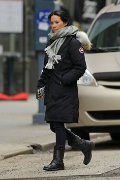 Canada Goose parka replica discounts - Actresses who wear Canada Goose Mystique (and others ...