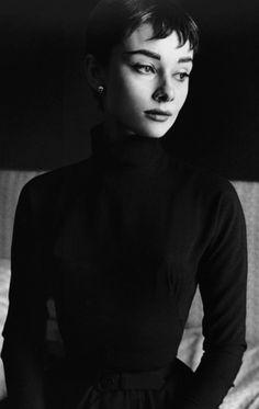 """demianco: """" Audrey Hepburn, 1953 """""""