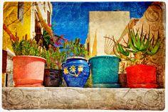 blue green mediterranean decor | How to Create the Mediterranean Decorating Style - ModernDesignIdeas ...