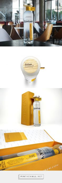 GINRAW packaging design by SeriesNemo - http://www.packagingoftheworld.com/2017/02/ginraw.html