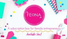 New Female Entrepreneur Subscription Box: The FEoNA Box https://www.ayearofboxes.com/news/new-female-entrepreneur-subscription-box-the-feona-box/