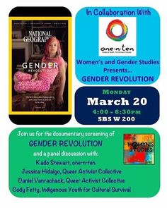 """2 Likes, 1 Comments - One•n•ten Phoenix (@onentenphx) on Instagram: """"Today in Flagstaff we are helping host a panel & free screening of Gender Revolution NAU. Everyone…"""""""