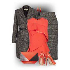 A fashion look from January 2015 featuring Narciso Rodriguez blouses, Paul Smith coats and Pedro del Hierro skirts. Browse and shop related looks.