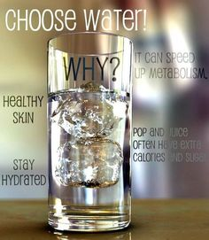 choose water!