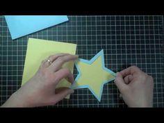 Wild Card 25 - Hello Card, p. 58, Star Card, p. 59 & WOW Card, p. 60 - YouTube - Creating With Christina
