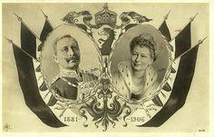Silberhochzeit Kaiser Wilhelm II. und Kaiserin Auguste Viktoria