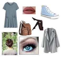 """""""Skylar's outfit"""" by ashlyncasey on Polyvore featuring Toast, Converse, H&M and Fogal"""