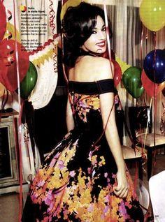 """Happy Birthday, Glamour!!"""": Monica Bellucci by Ellen von Unwerth"""