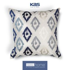 @LasVegasMarket is underway! Be sure to visit us in WMC Building B, B-175, today through January 26. The first 10 visitors each day will receive a KAS Beach bag containing goodies and a mystery discount! http://www.kasrugs.com/product/details/PILL20618SQ#ColorWithKAS | #ColorWithKAS #LVMKT #Pillows #Pillow #DonnyOsmond #DonnyOsmondHome