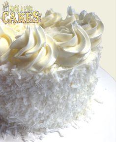 Best Coconut Cake Ever! 😍🤤 #justdrooling #lovemesomecoconut #makeawishcakes Chiffon Cake, Make A Wish, Custom Cakes, Yummy Cakes, How To Make Cake, Icing, Cake Decorating, Special Occasion, Coconut