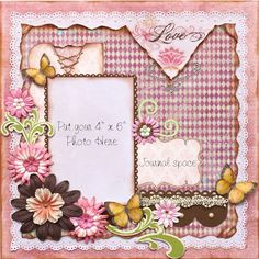 Such a Pretty Mess: Check out my new Premade Scrapbook Pages at my Etsy site!