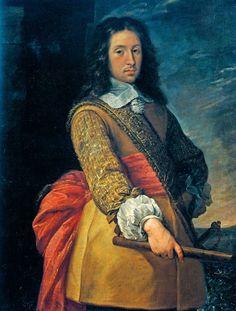 Don Juan-José de Austria (1629 - 1679), bastardo del rey Felipe IV y de la actriz María Calderón, fue valido de su medio-hermano el rey Carlos II. / By Carlo Francesco Nuvolone, 1656.