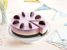 This looks amazing! Cheesecake Desserts, Cute Desserts, Baking Recipes, Cake Recipes, Dessert Recipes, Brithday Cake, Cookie Cake Pie, Swedish Recipes, Dessert Decoration