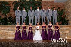 #purplewedding!