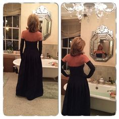 Love my #Lanvin gloves for special occasions. I wear a lot of @kayungerdesigns. #dior bag  Beautiful gown! #rhony  #bravo