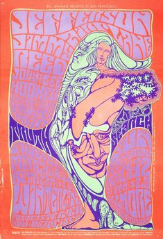 Jefferson Airplane, Jimmy Reed, John Lee Hooker, The Stu Gardner Trio (Mar 10,12.1967 at Winterland, San Francisco, CA)