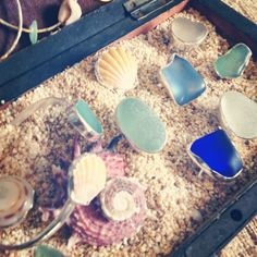 #Jewelry #beachfinds #seashells