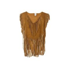 Nice Summer Halter Dresses **Holy Crap I want this** Brown Suede Sleeveless Fringed Top - Vintage clothing . Fringe Fashion, Love Fashion, Halter Dress Summer, Halter Dresses, Vintage Outfits, Vintage Clothing, Custom Clothing, Vintage Tops, Look Cool