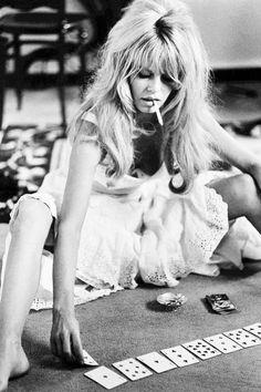 Brigitte Bardot photographed by Douglas Kirkland during the filming of Viva Maria, 1965.