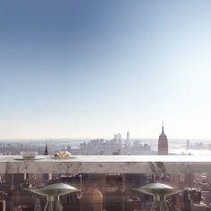 432 Park Avenue apartment terrace